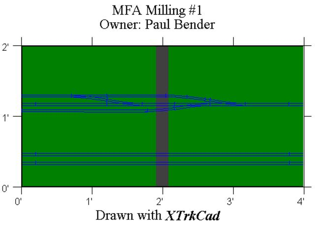 MFA Milling module drawing