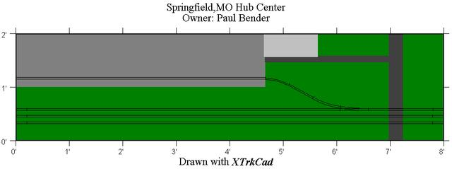 Springfield Hub Center module drawing